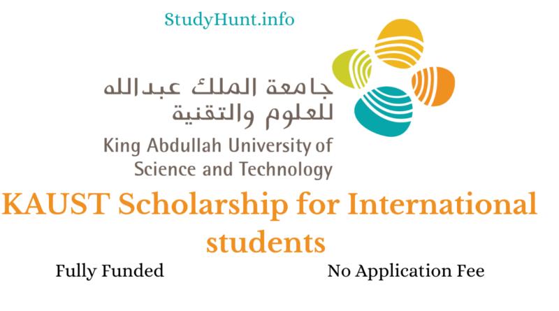 KAUST Scholarship