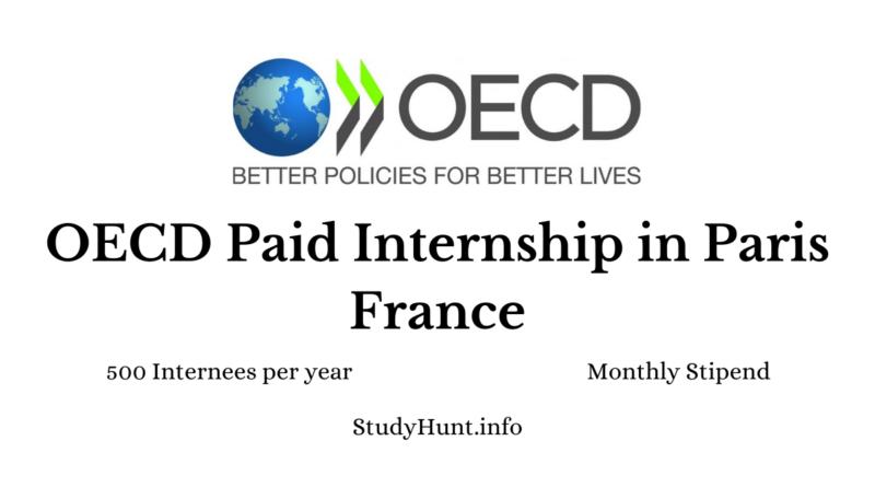 OECD Internship online application