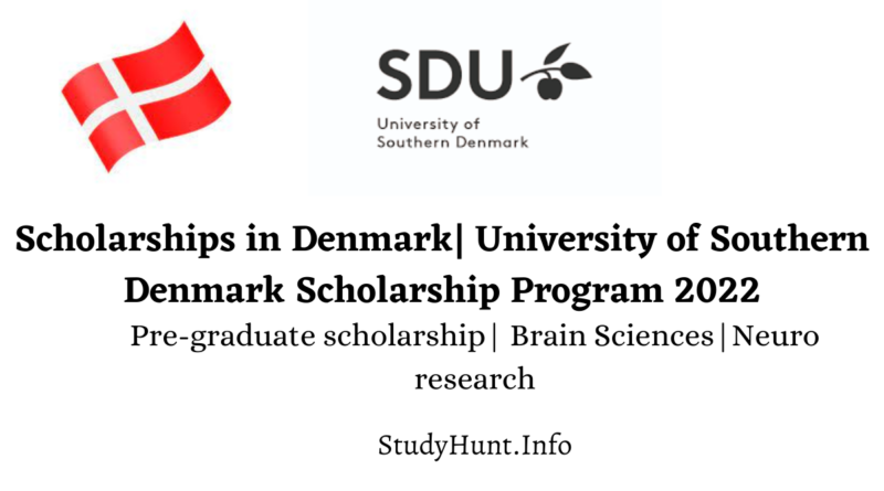 Scholarships in Denmark University of Southern Denmark Scholarship Program 2022